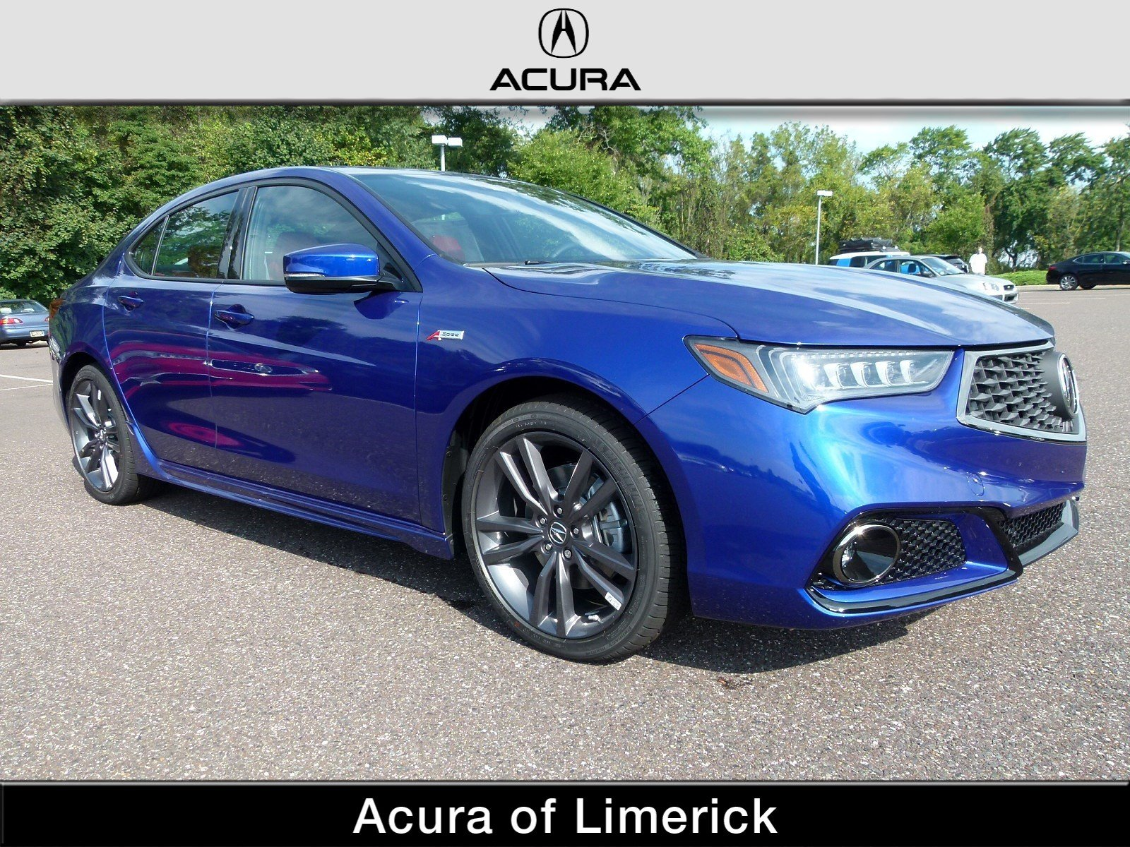 New 2019 Acura TLX 3 5 V 6 9 AT P AWS with A SPEC RED 4dr Car in
