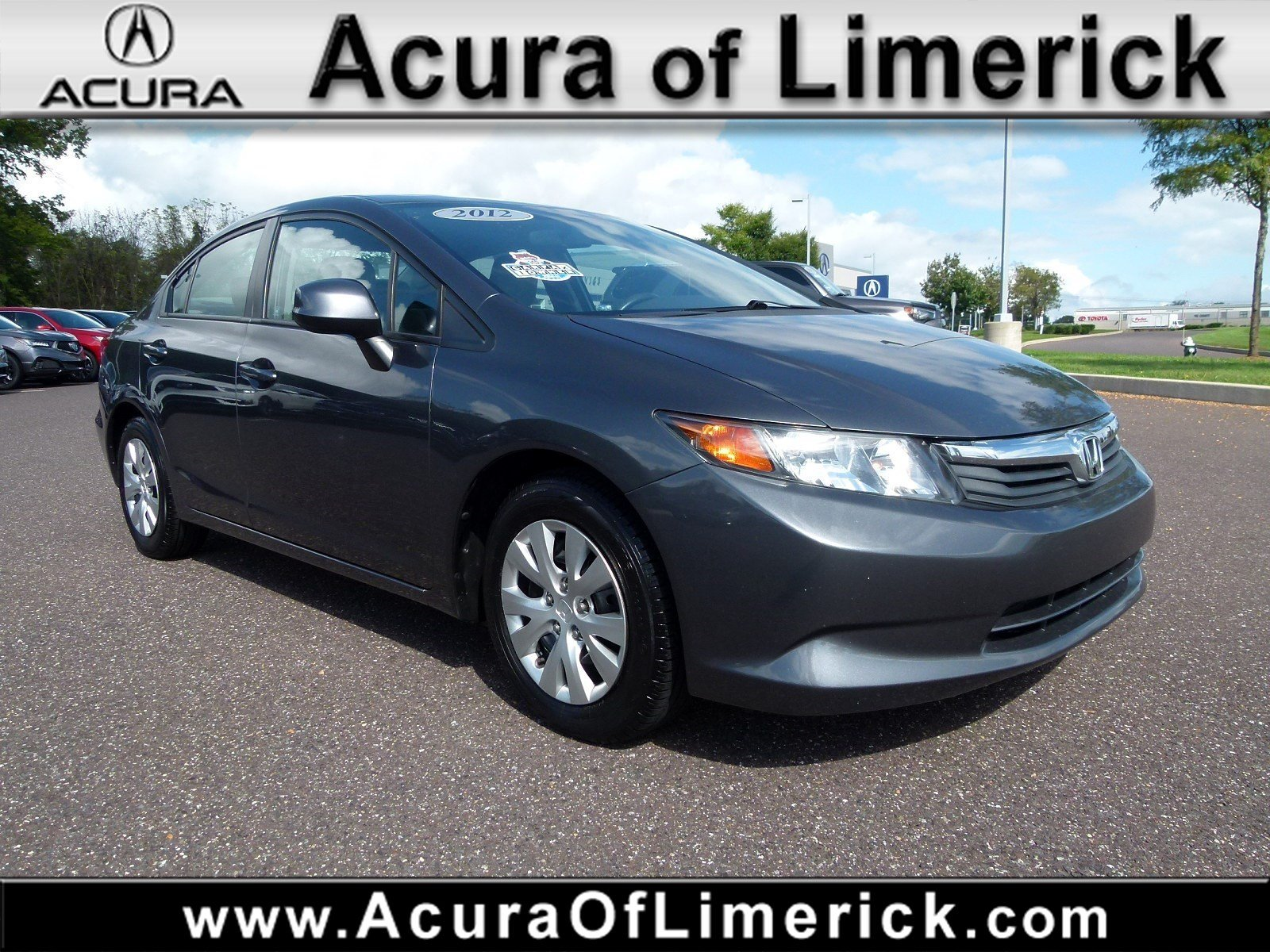 Pre Owned 2012 Honda Civic Sdn LX