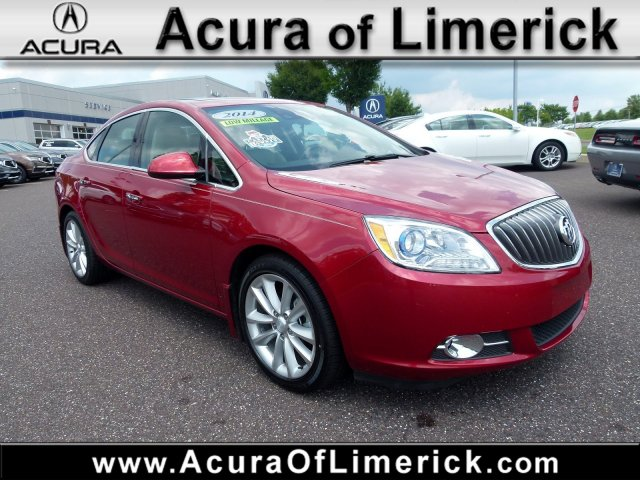 2014 Buick Verano Leather Group >> Pre Owned 2014 Buick Verano Leather Group With Navigation