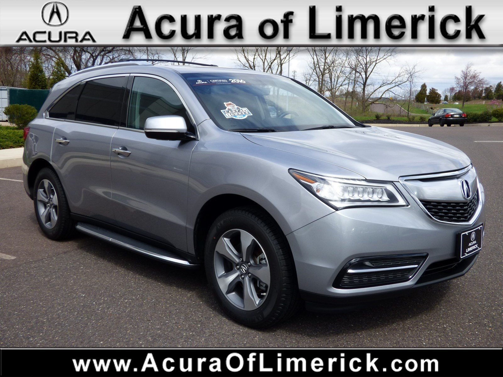 Certified Pre Owned 2016 Acura MDX Base Sport Utility in Limerick