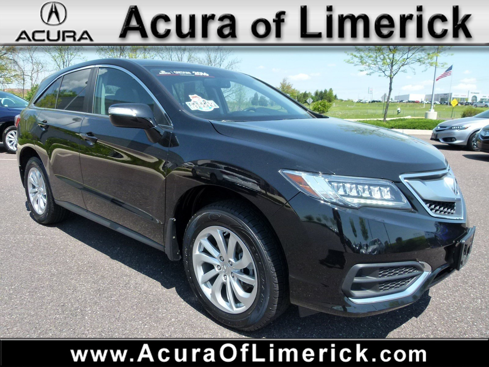 Certified Pre Owned 2016 Acura RDX AWD Sport Utility in Limerick