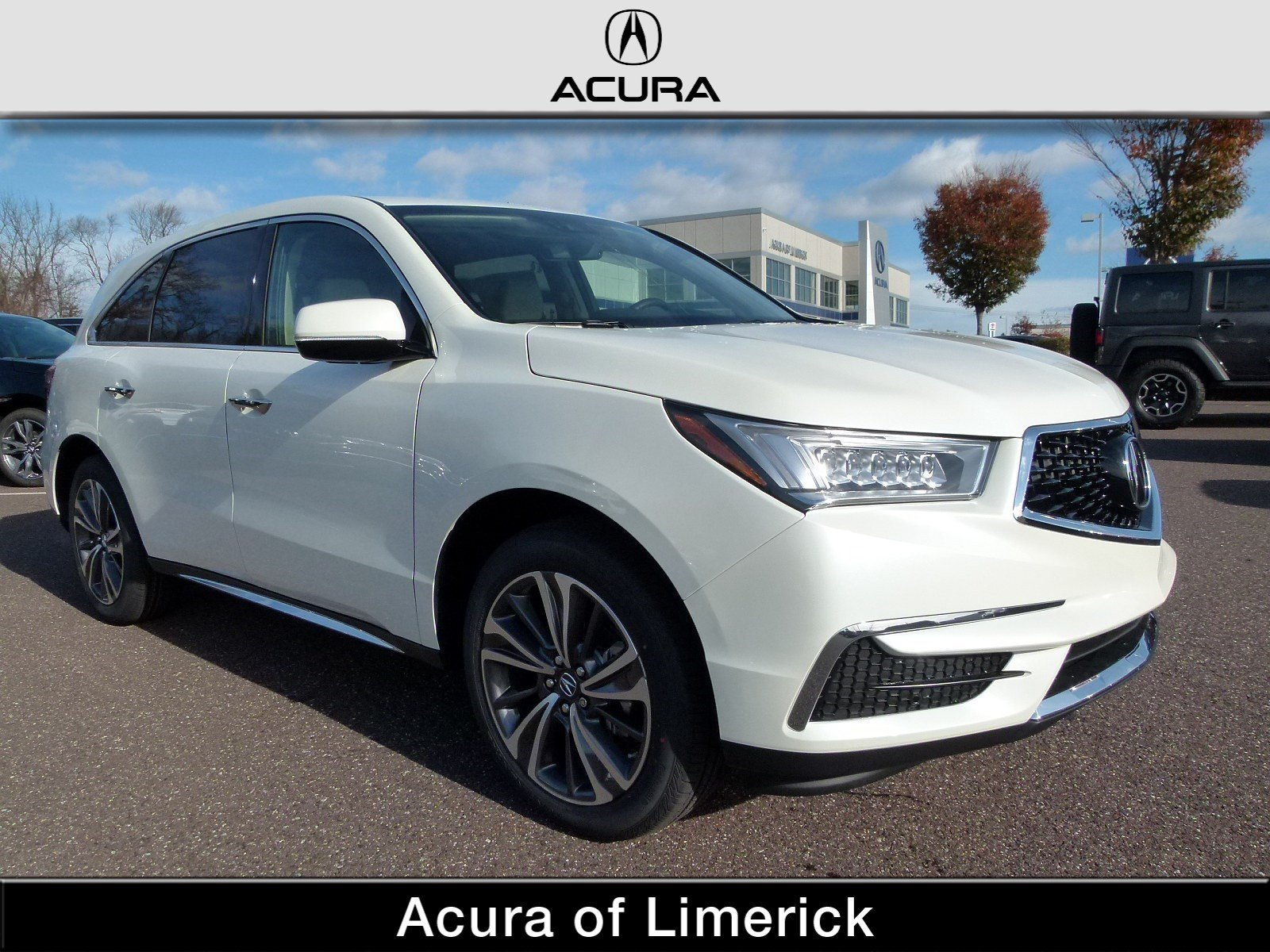 New 2019 Acura MDX SH AWD with Technology Package Sport Utility in