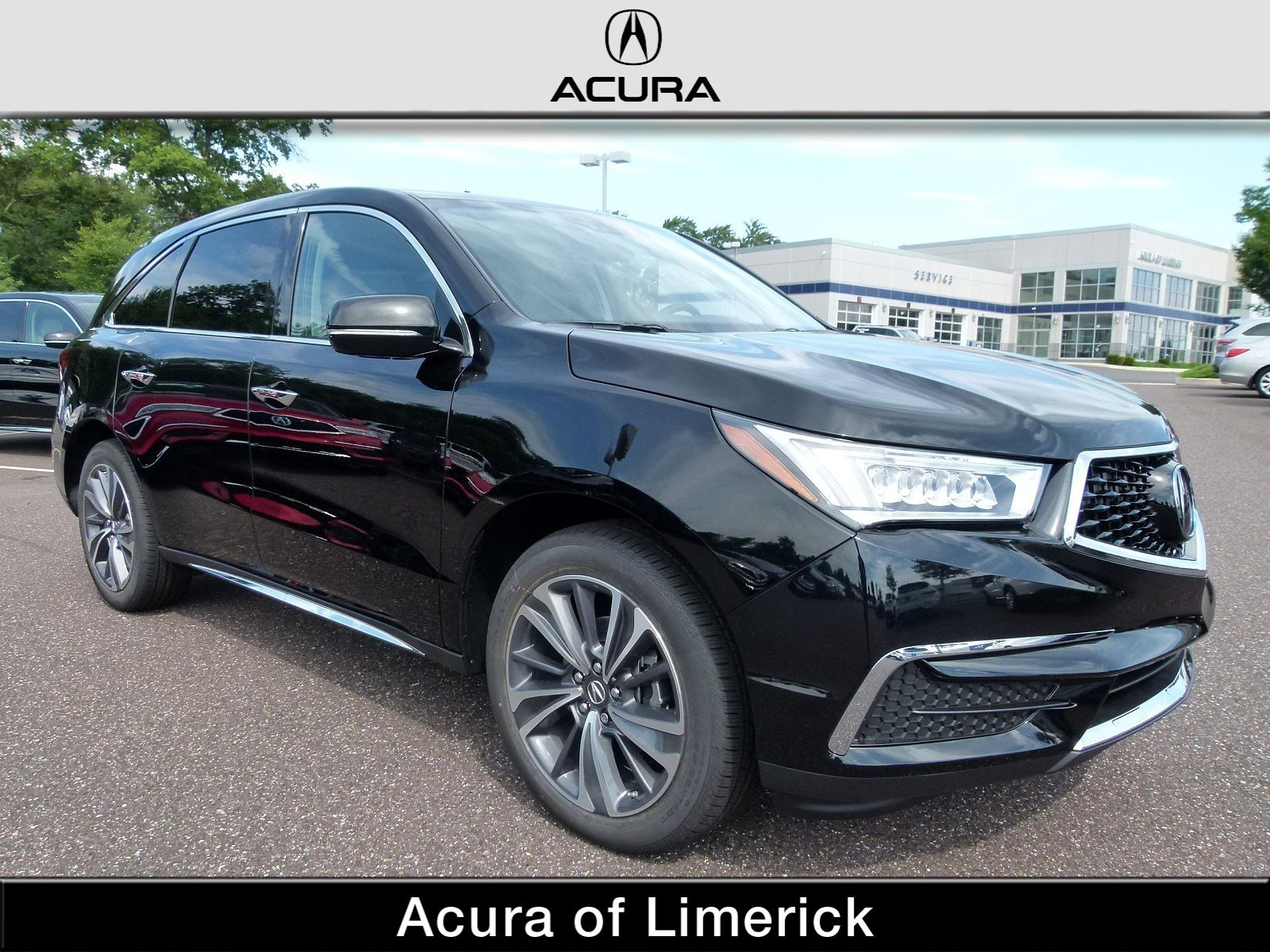 New 2019 Acura MDX AWD TECH 7P Sport Utility in Limerick