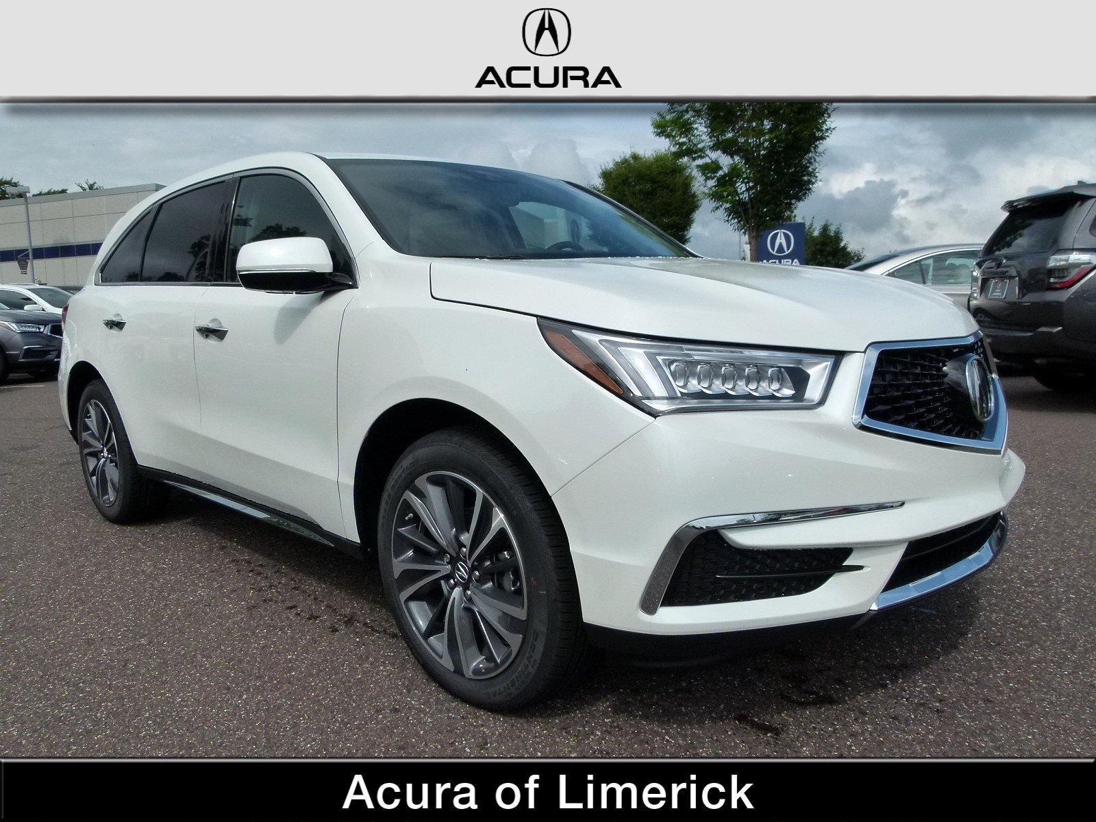 New 2019 Acura MDX AWD TECH 6P ENTERTAINMENT Sport Utility in