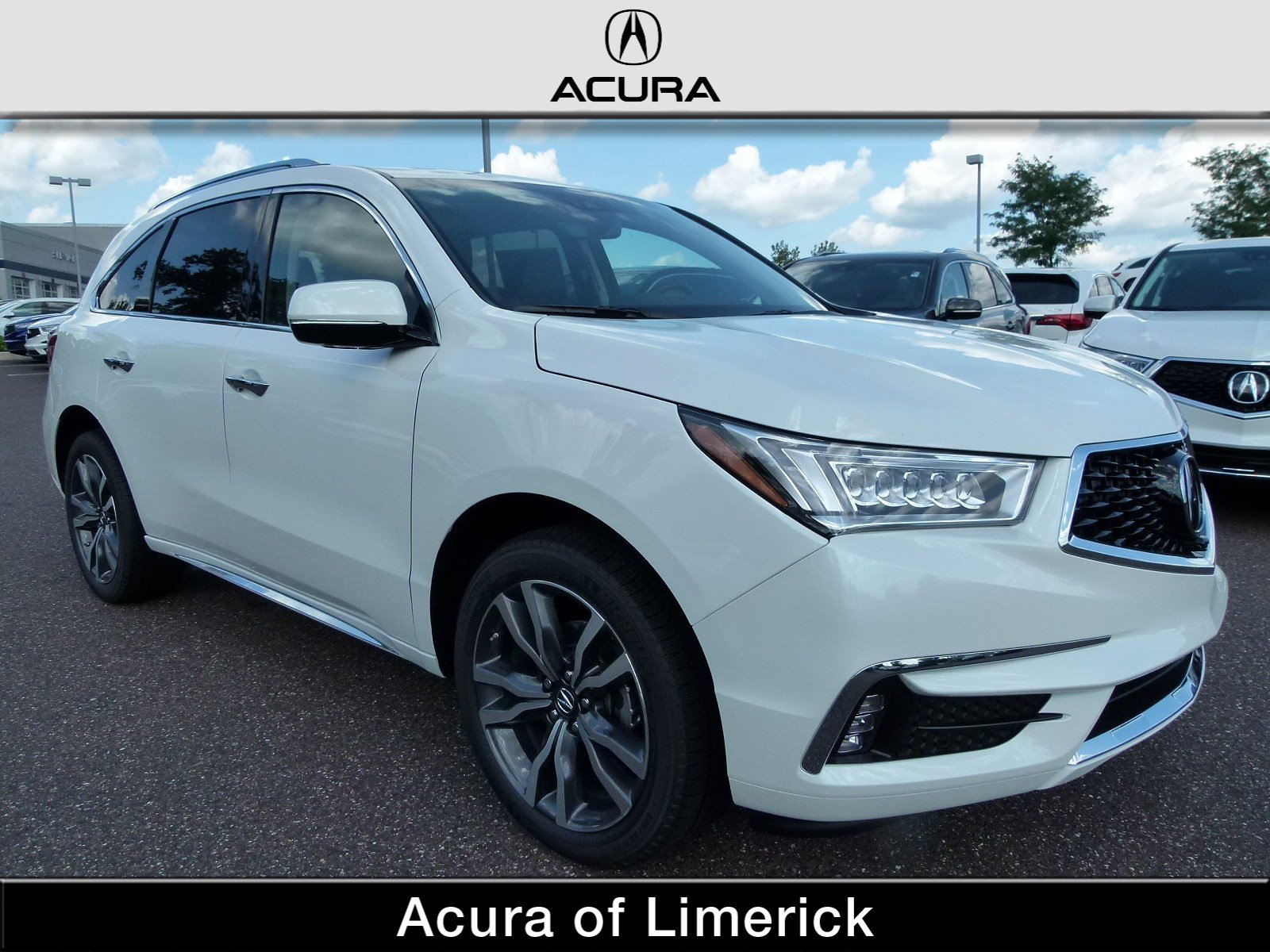 New 2019 Acura MDX AWD ADVANCE 6P Sport Utility in Limerick